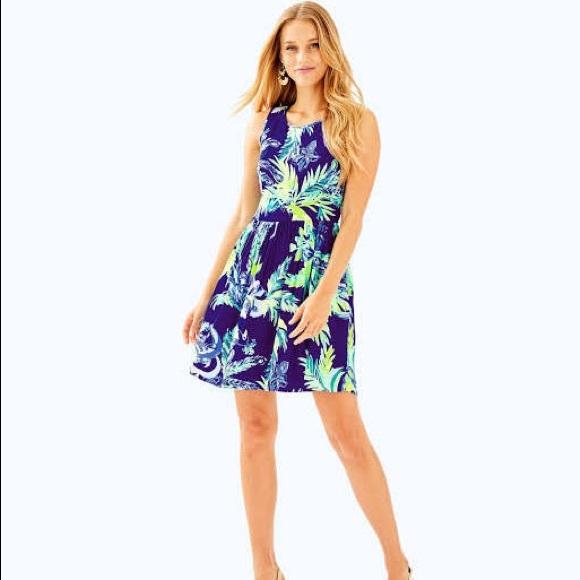 Lilly Pulitzer Dresses & Skirts - Lilly Pulitzer Kassia Dress Twilight Blue - Sz 0